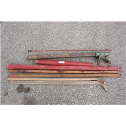 Misc Wooden Items (Wheel Barrel Handles)