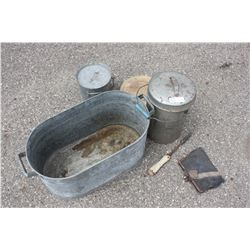 Tub, Water Container and Misc