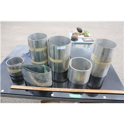 Lot of Metal Flashing (Aluminum)