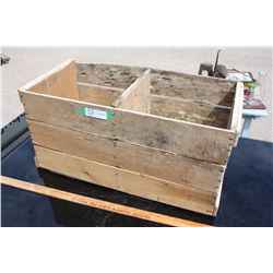 """Wooden Egg Crate 26"""" by 12"""""""