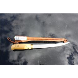 Filleting Knife and Case