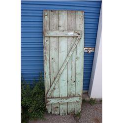 """Wooden Door 25"""" by 68"""""""