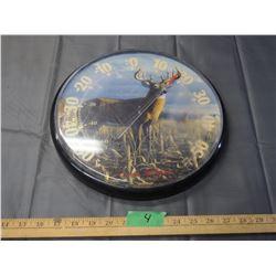 James Hautman 1996 Deer Thermometer *scratches on plastic