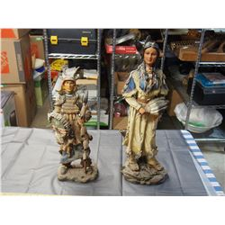 2 TIMES THE MONEY: Figurines