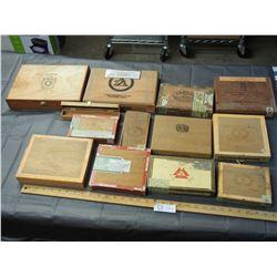 Wooden Cigar Tobacco Boxes