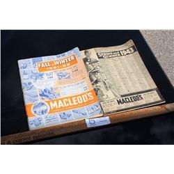 1940s and 1960s Macleods Books