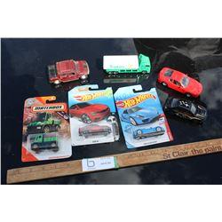 7 Toy Vehicles