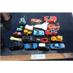 20 Toy Cars