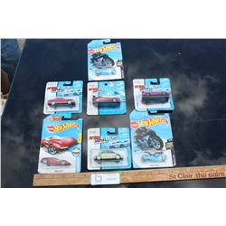 7 Toy Cars in Packaging