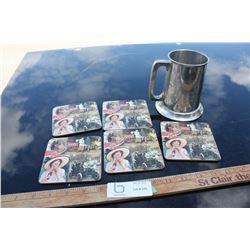 5 Coasters and 1969 Ford Mug