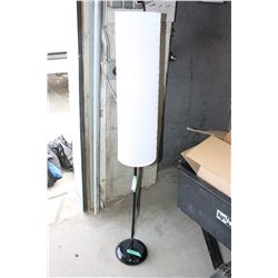 """Floor Lamp (Working) 54.5"""" T With Shade"""