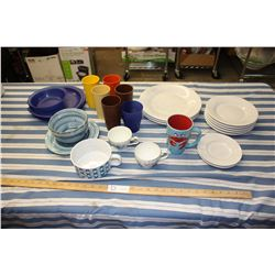 Mixed Lot of Dishes