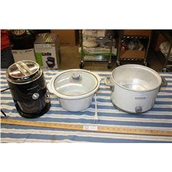 Hamilton Beach Mixer (Working) and Crock Pot (Working)