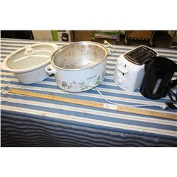 Hamilton Beach Slow Cooker, Kettle and Toaster (All Working)