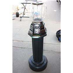 """Bubble Gum Machine Stand (49.5"""" T)"""