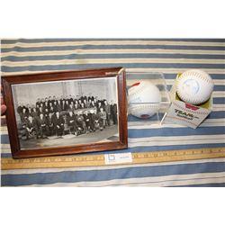 Display Baseball, Softball and Vintage Picture