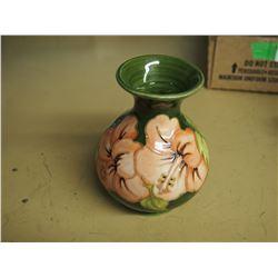 Moorcroft Ceramic Vase Made in England