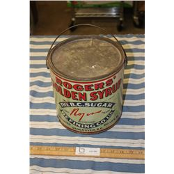 1920/30s Rogers Golden Syrup Can