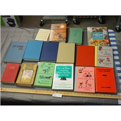Lot of Vintage Assorted Books
