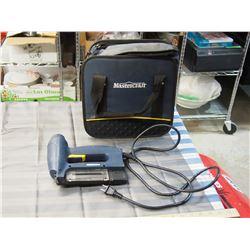 Master Craft Electric Brad Nailer Gun (Working)