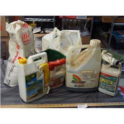 Roundup, Garden Chemicals, Softner Salt, Grass Fertilizer and Spreaders