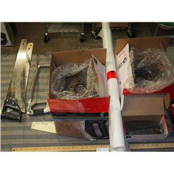 Brake Rotors and Brake Pads (Used) plus misc