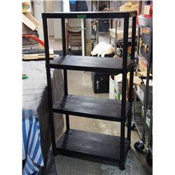 4 Shelf Plastic Stacking Shelves