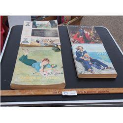 4 Eaton's Catalogs 1950-1970s