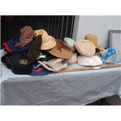 Lot of Assorted Vintage Hats