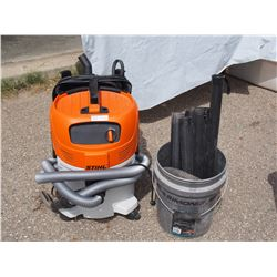 Still Se 122 Vacuum Cleaner with Attachments (Working)