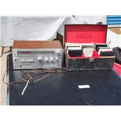 Yorx Stereo Fm/Am Tape Player and 8 Tracks (Working)