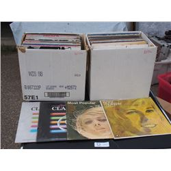 2 Boxes of Misc Records