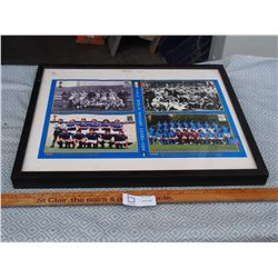 """Italy World Soccer Champ Picture 21.5"""" by 17"""""""