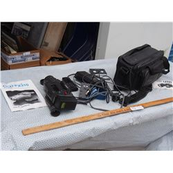 Video Camera Recorder with Charger and Remote