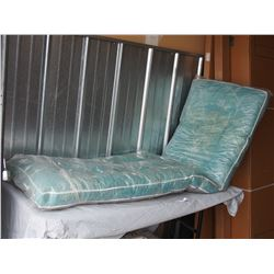 "Lawn Chair Cushion (in plastic) 72"" X 22"""