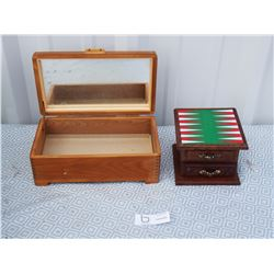 Jewelry Box and Coasters with Holder