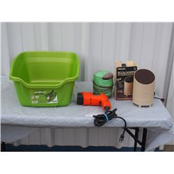 Black & Decker Heat N' Strip Paint Remover, Philips Ecologizer Air Treatment System, Twine, and Tub