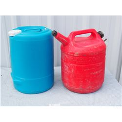 20 Litre Gas Can and Water Jug