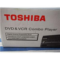 Toshiba DVD/VCR Combo Player *new in box
