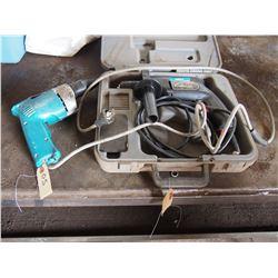 Skil Electric Drill & Makita Drywall Drill