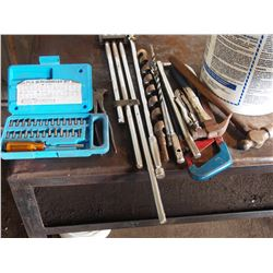 Fencing Tool Drill Bits, Socket Extenders, Hammers, Etc