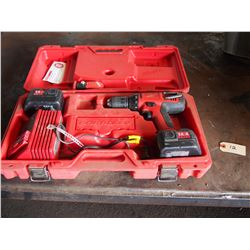 Milwakee Cordless Drill 14.4 Volts with Battery Charger