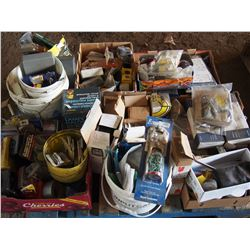 Whole Pallet of Light, Fittings, Electrical Related, Livestock Related, Etc