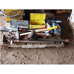 JackAll Sledge Hammer, Hydraulic Jack, Tire Irons Etc