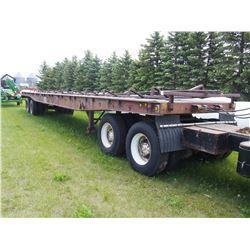 HiBoy Flat Deck Trailer Bale Hauler- 45ft