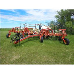 29ft Bourgault Air Seeder 8800 Cultivator with Bourgault Model 2115 Special Tank
