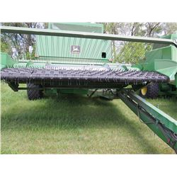John Deere 7721 PT Combine with 212 Pickup *with extra tire