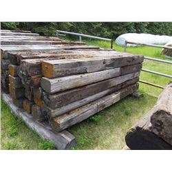 20 TIMES THE MONEY: 20 8Ft Railroad Ties