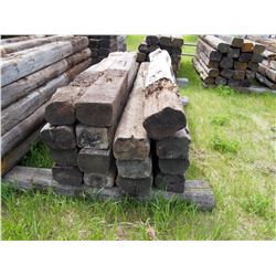 15 TIMES THE MONEY: 15 8Ft Railroad Ties