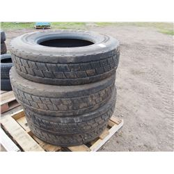 4 TIMES THE MONEY: General 11R 22.5 Tires